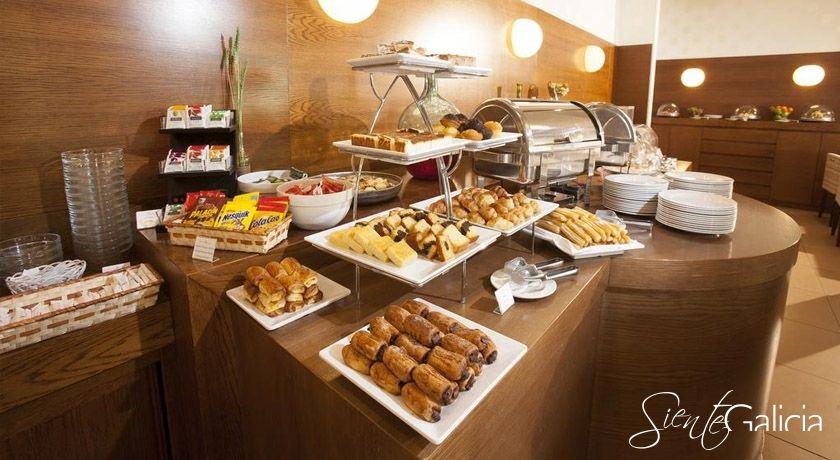 Desayuno Hotel Spa Attica 21 Villalba