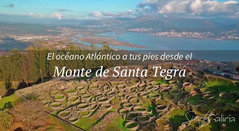 Monte de Santa Tegra en A Guarda