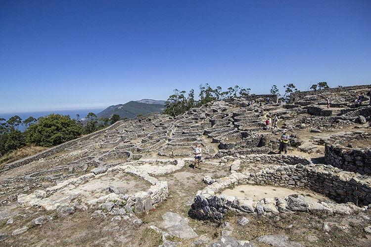 Castro del Monte de Santa Telca. Imagen de MolaViajar.
