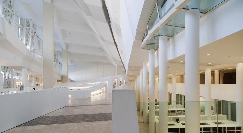 Interior Cidade da Cultura