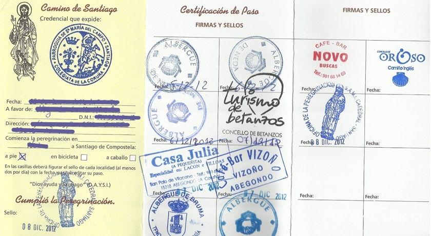 Credencial peregrinos