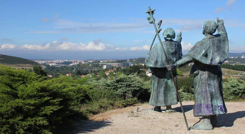 Monte do Gozo Camino de Santiago 1