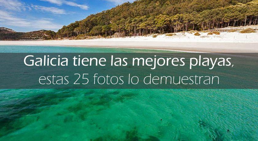 25 Playas de Galicia
