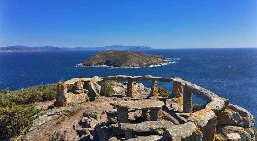 Vistas de la Isla de Ons