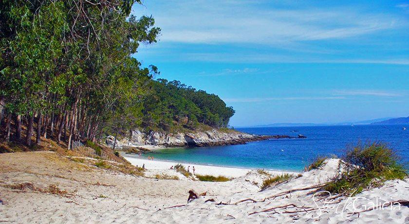 playa de figueiras islas cies galicia