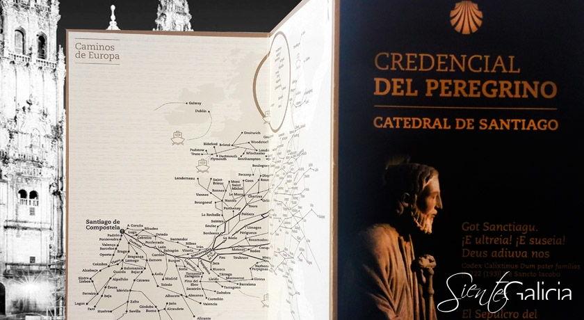 Mapa Credencial del Peregrino