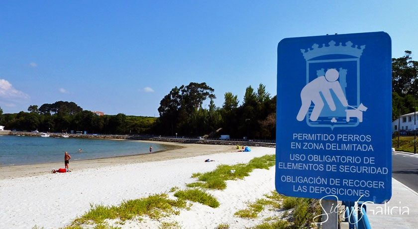 Playa de Estaca en Ares