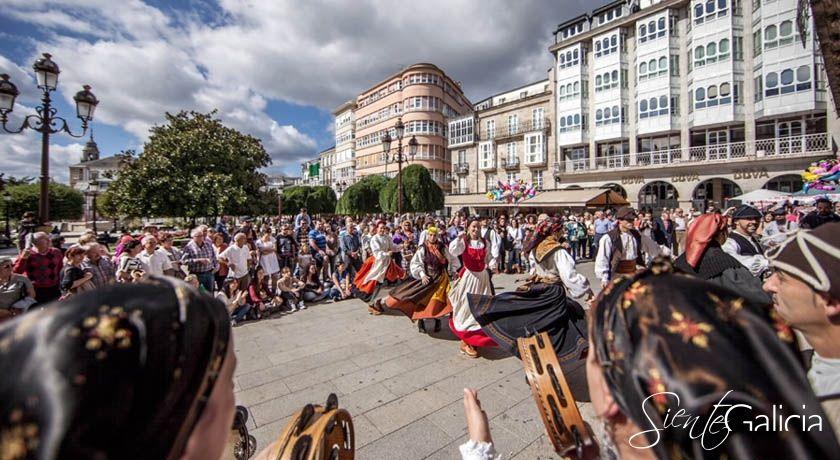 Baile tipico San Froilan