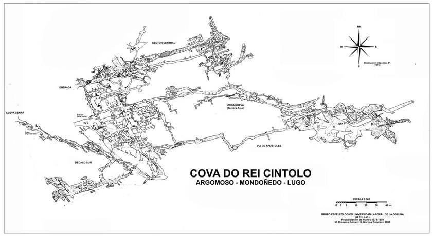 Mapa Cova do Rei Cintolo
