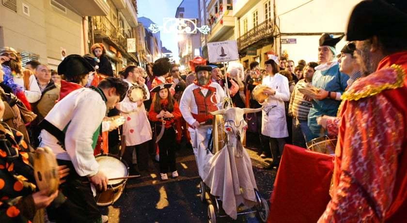 Choqueiros Carnaval A Coruna