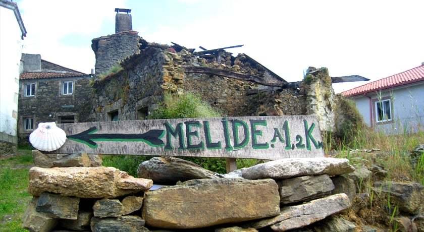 Camino de Santiago Melide