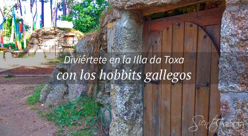 Aldea de los Grobits Galicia