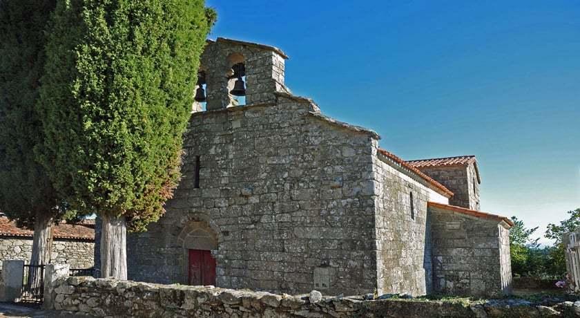 Iglesia del Antiguo Monasterio de San Fiz de Cangas