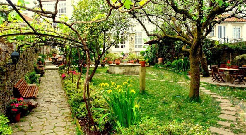 Jardin Costa Vella Santiago de Compostela