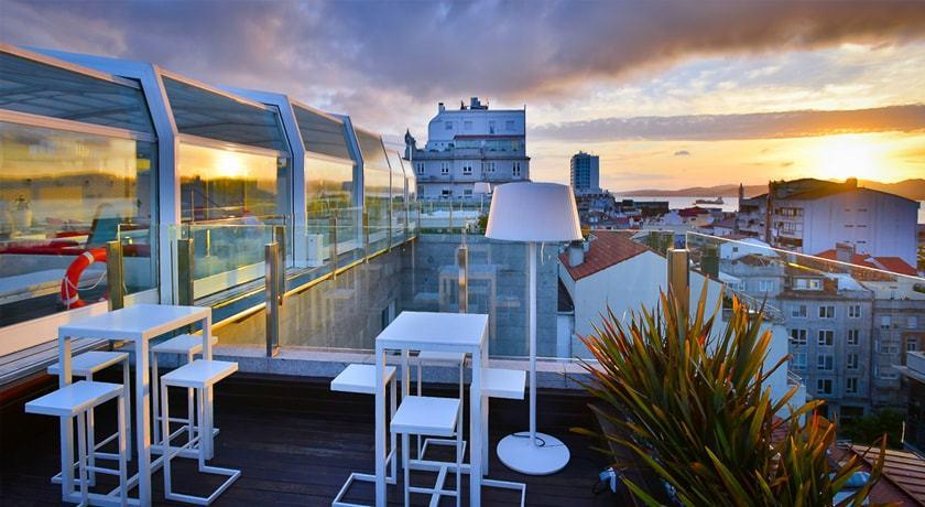 Terraza Gran Hotel Nagari de Vigo