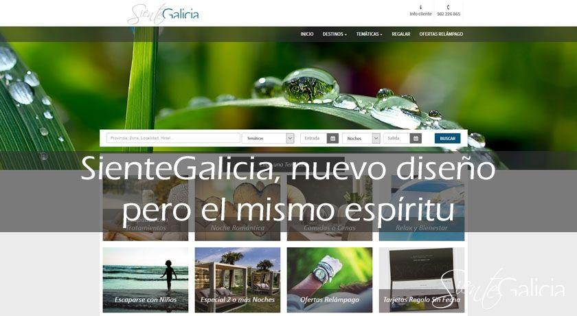 SienteGalicia nueva Web