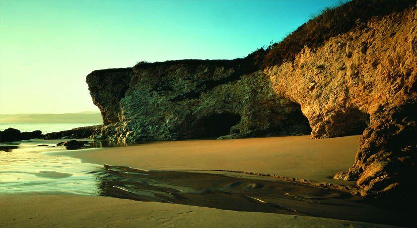 Playas de Galicia en Otono