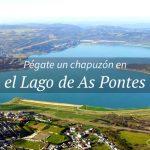 El gran lago artificial de Galicia