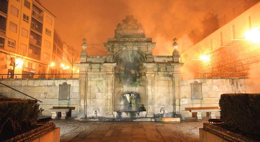 Fuente de As Burgas en Ourense