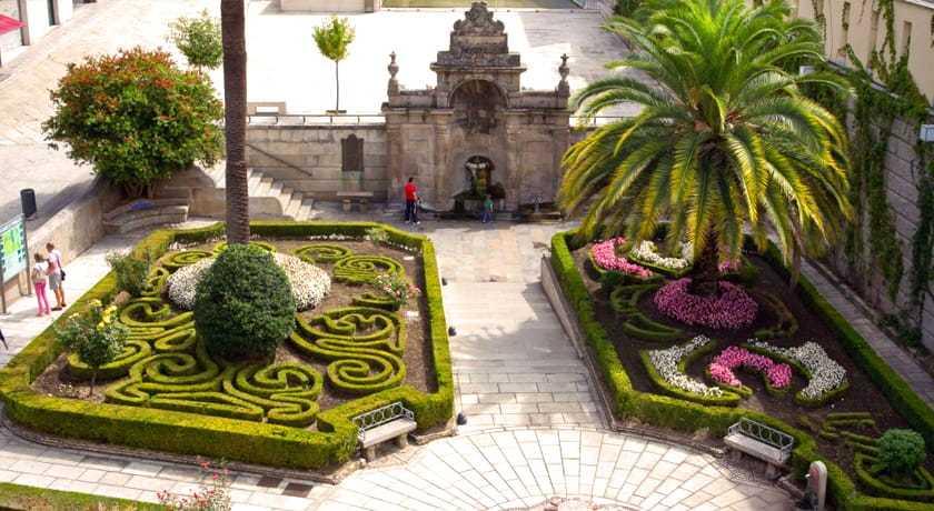 Jardines Burgas de Ourense