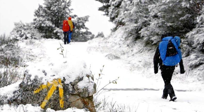 Camino de Santiago en Invierno