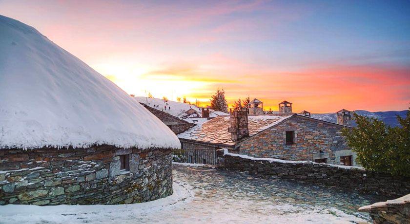 Neve en O Cebreiro via javi penelas