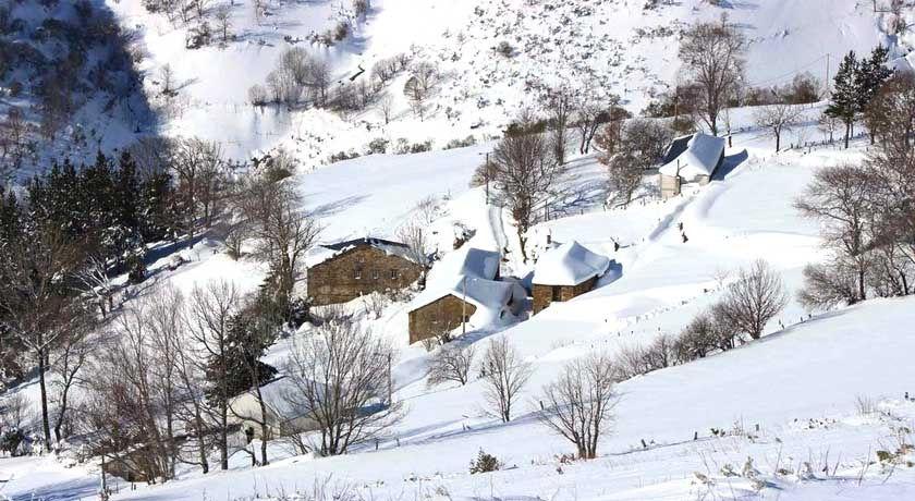 Nieve en Os Ancares