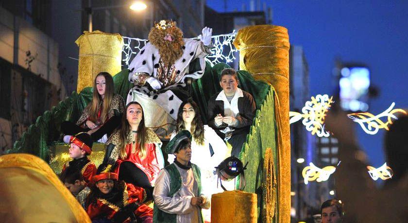 Cabalgata de Reyes en Ferrol