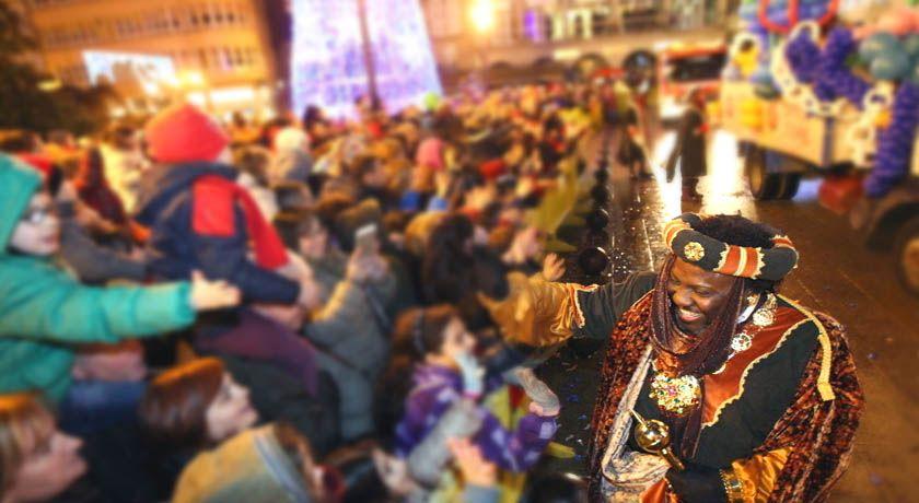 Cabalgata de Reyes en Lugo