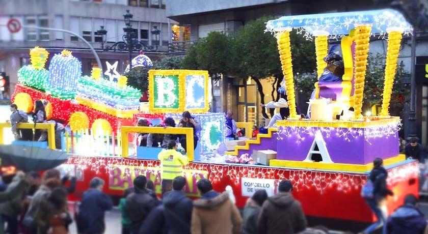 Cabalgata de Reyes en Vigo