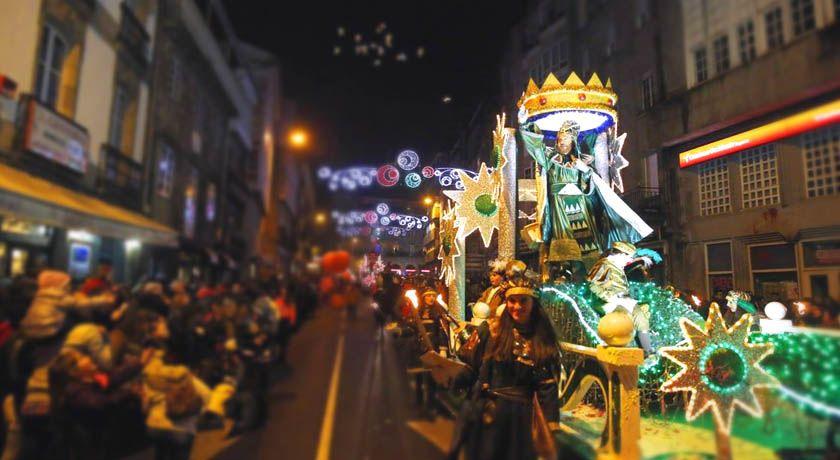 Reyes Magos en Galicia