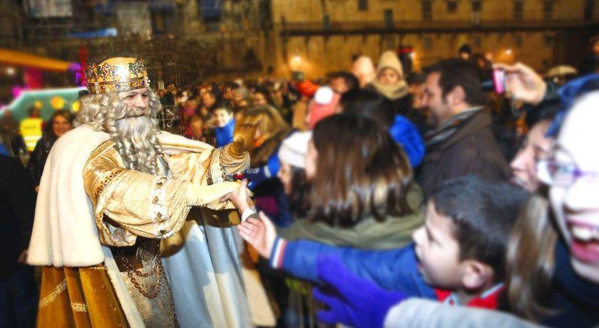 Reyes Magos en Pontevedra