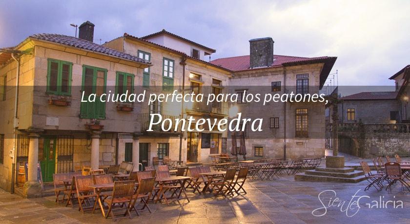 De paseo por el centro histórico de Pontevedra