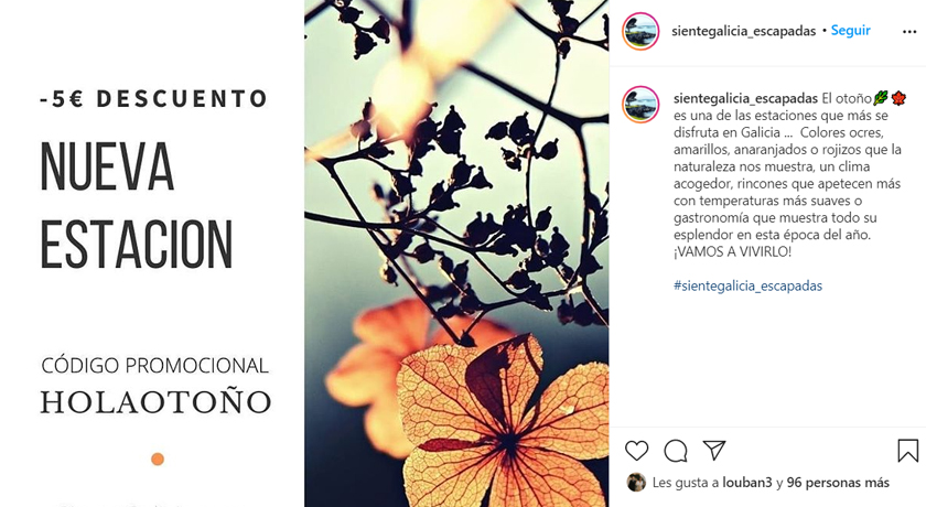 Instagram SienteGalicia.
