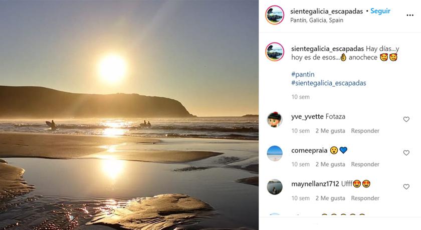 Instagram SienteGalicia