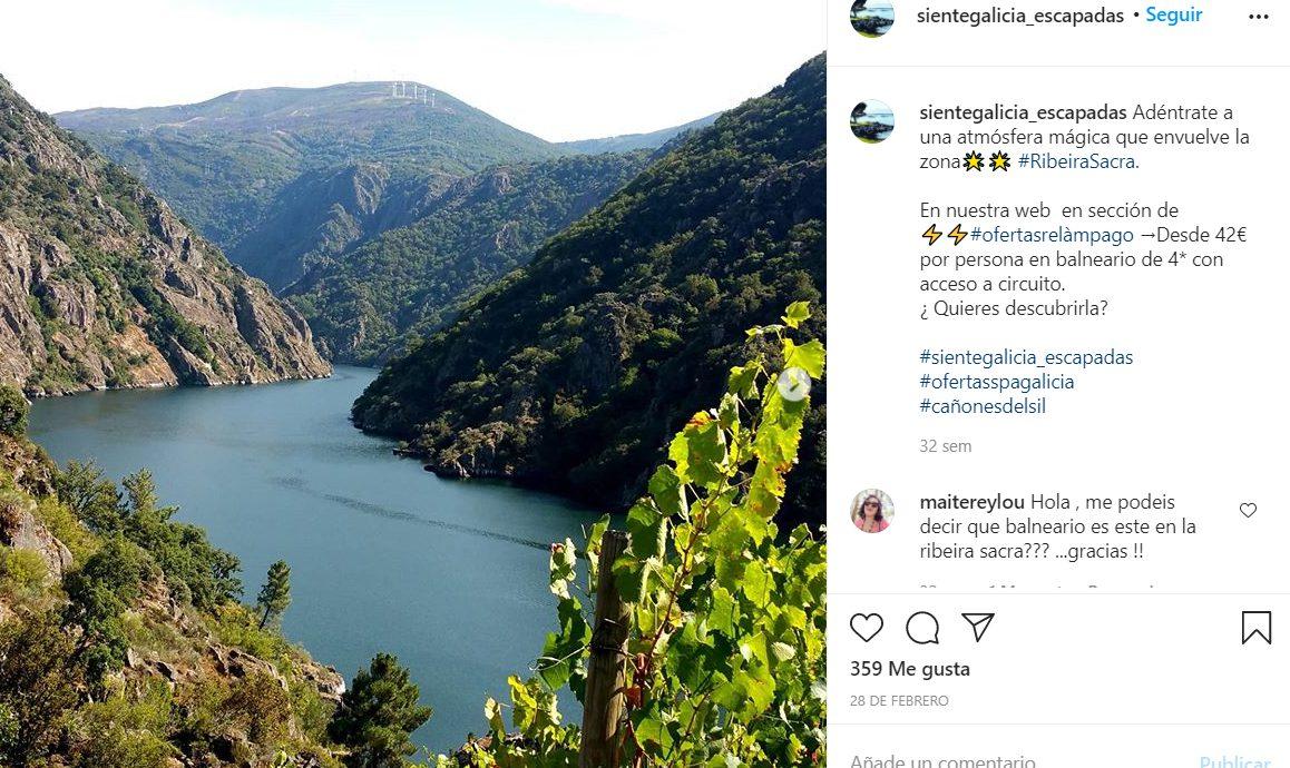 Instagram de Siente Galicia.